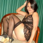 femme coquine colombes
